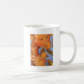 Trish Biddle Safari Giraffe Coffee Mugs