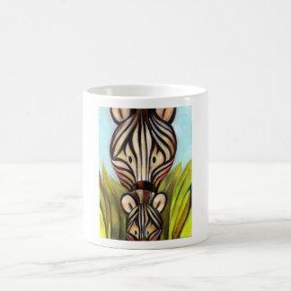 Trish Biddle Safari  Zebra Coffee Mug