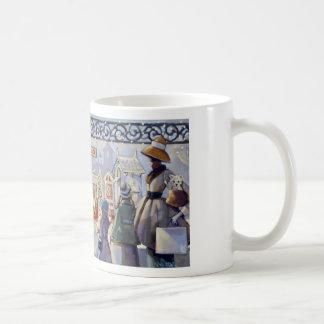 Trish Biddle Santa's Villiage Mug