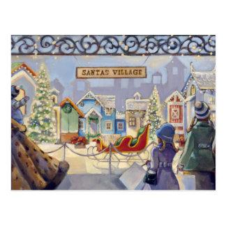 Trish Biddle Santa's Villiage Postcards
