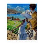 Trish Biddle - tenis en la Riviera Postal
