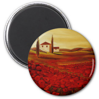 Trish Biddle Tuscany Series 2 Inch Round Magnet