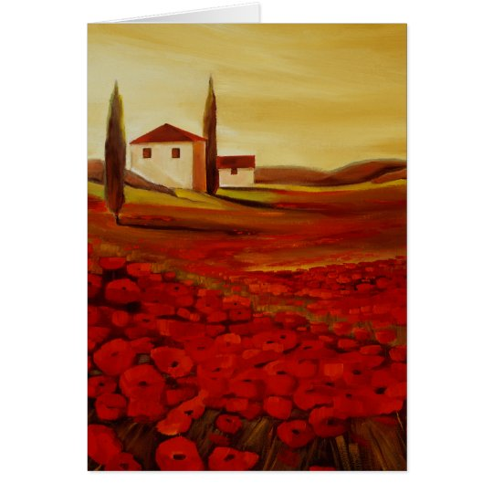 Trish Biddle Tuscany Series Card