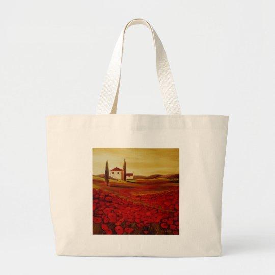 Trish Biddle Tuscany Series Large Tote Bag