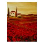 Trish Biddle Tuscany Series Postcard