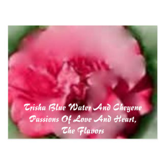 Trisha Blue Water CL Beauty Of Life Postcard