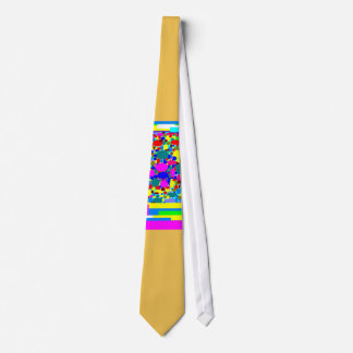 Trisha Blue Water Lollipop Lights Tie