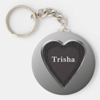 Trisha Heart Keychain by 369 My Name