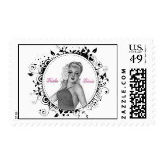 Trisha Trixie Postage Stamps