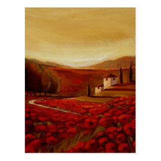 TrishBiddle Tuscan3 Postcard