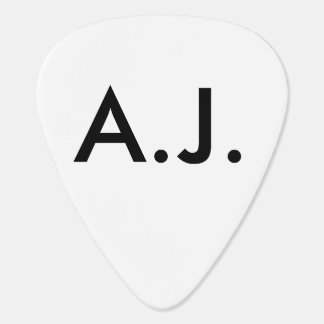 Triskele ADD YOUR INITIALS Guitar Pick
