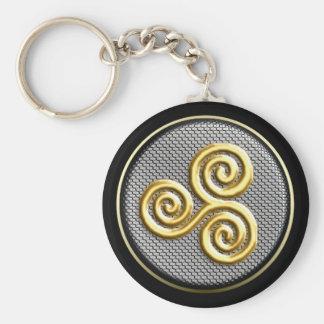Triskele Keychain