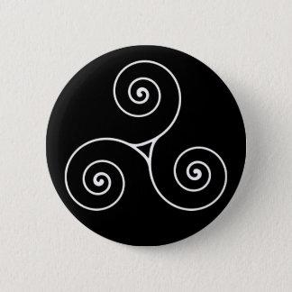 Triskele Pinback Button