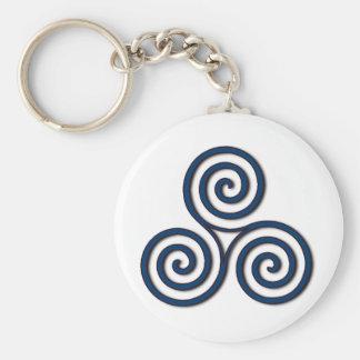 Triskelion #29 keychain