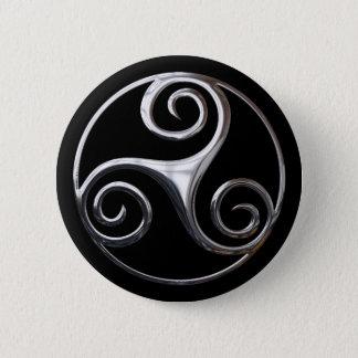 Triskelion Button