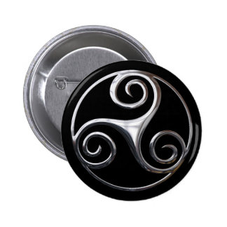 Triskelion Button
