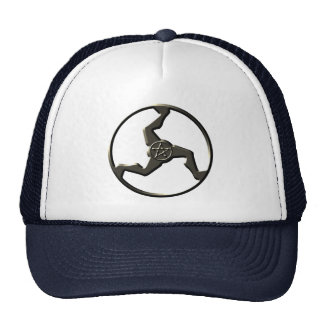 triskelion-lucky-hat trucker hat