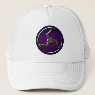 Triskelion Pentacle Good Luck Trucker Hat