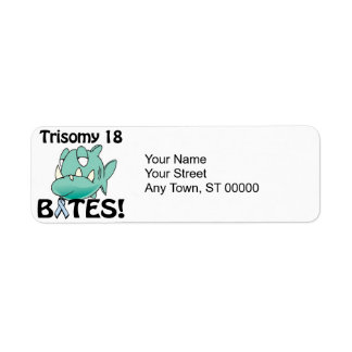 Trisomy 18 BITES Return Address Label