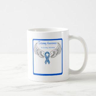 Trisomy 18 Customizable In Loving Memory Coffee Mug