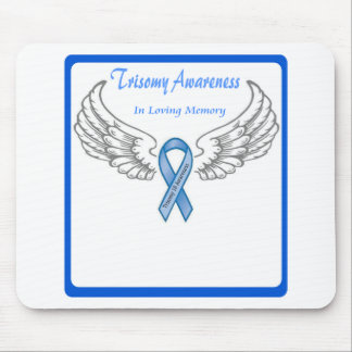 Trisomy 18 Customizable In Loving Memory Mouse Pad