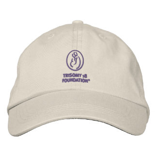 Trisomy 18 Foundation Embroidered Hat