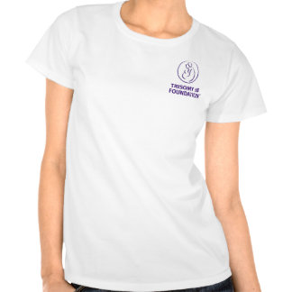 Trisomy 18 Foundation Logo - Women's Fitted Tee