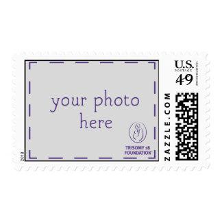 Trisomy 18 Foundation Personalized Dk Logo Stamps