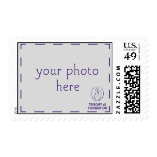 Trisomy 18 Foundation Personalized Dk Logo Stamps