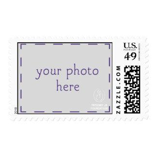 Trisomy 18 Foundation Personalized Lt Logo Stamps