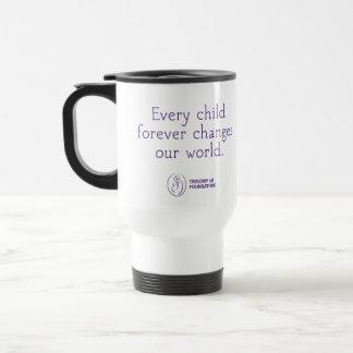 Trisomy 18 Foundation Personalized Travel Mug