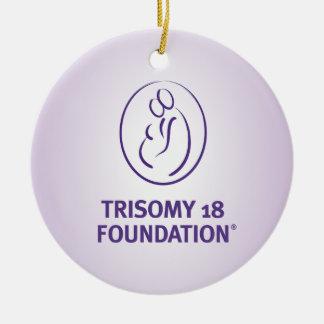 Trisomy 18 Foundation Quote - Purple Ornament