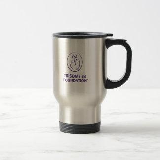 Trisomy 18 Foundation Stainless Steel Travel Mug
