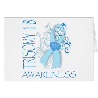 TRISOMY 18, TRISOMY 18 AWARENESS GREETING CARD