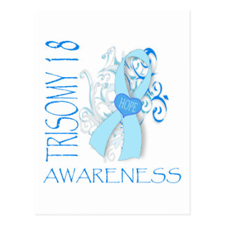 TRISOMY 18, TRISOMY 18 AWARENESS POSTCARD