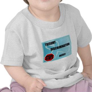 Trisomy Discrimination Stops Here T Shirt