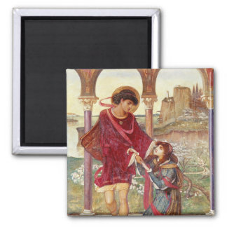 Tristan and Iseult 1876 Refrigerator Magnets