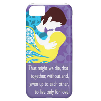 Tristan And Iseult gift with quote Case For iPhone 5C