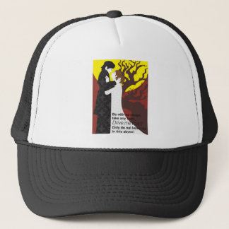 Tristan And Iseult gift with quote Trucker Hat