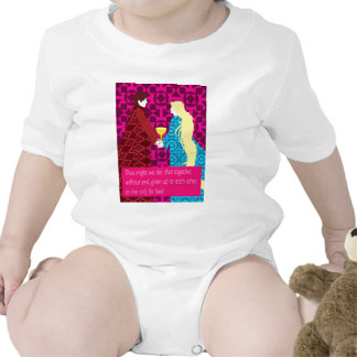 Tristan And Iseult gift with quote Rompers