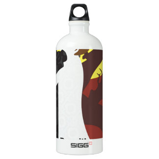 Tristan And Iseult with quote SIGG Traveler 1.0L Water Bottle