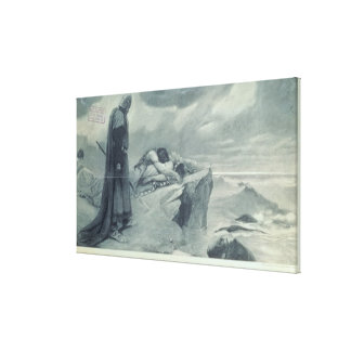 Tristan and Isolda' Canvas Print