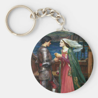 Tristan and Isolde Basic Round Button Keychain