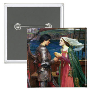 Tristan and Isolde Button