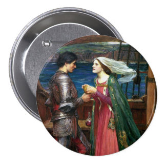 Tristan and Isolde Pinback Buttons