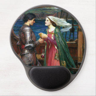 Tristan and Isolde by John William Waterhouse Gel Mouse Pad