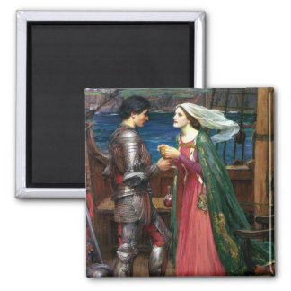 Tristan and Isolde by John William Waterhouse Magnets