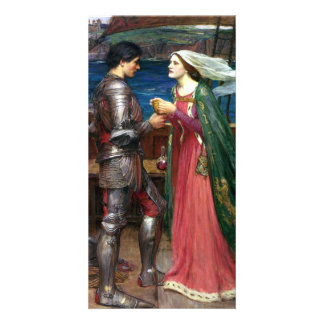 Tristan and Isolde by John William Waterhouse Picture Card