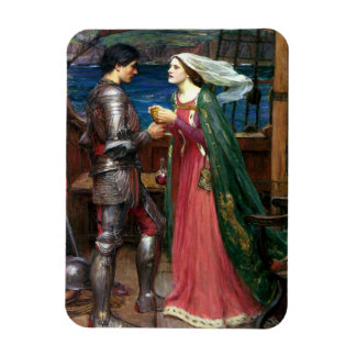 Tristan and Isolde by John William Waterhouse Flexible Magnets