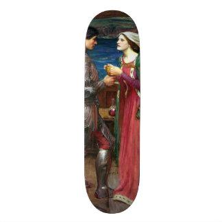 Tristan and Isolde by John William Waterhouse Custom Skateboard